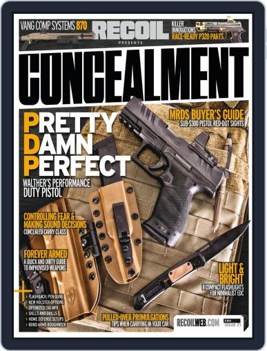 RECOIL Presents: Concealment Magazine (Digital) February 16th, 2021 Issue Cover