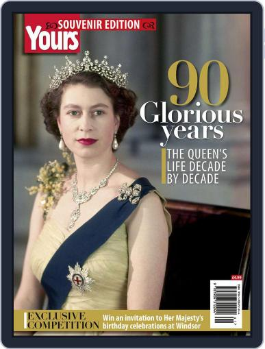 90 Glorious Years - The Queen's life decade by decade Magazine (Digital) July 1st, 2016 Issue Cover