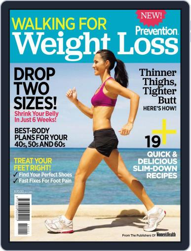 Prevention Special Edition - Walking for Weight Loss Magazine (Digital) February 12th, 2014 Issue Cover
