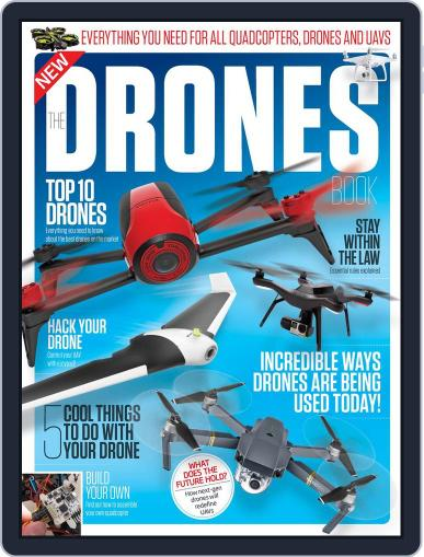 The Drones Book Magazine (Digital) December 1st, 2016 Issue Cover