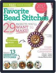 Favorite Bead Stitches Magazine (Digital) Subscription March 1st, 2017 Issue