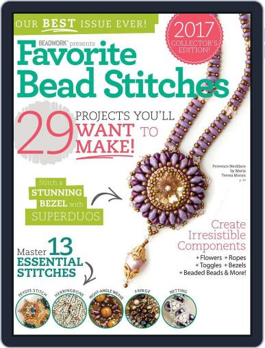 Favorite Bead Stitches Magazine (Digital) March 1st, 2017 Issue Cover