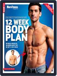 Men's Fitness The 12 Week Body Plan Magazine (Digital) Subscription January 17th, 2013 Issue