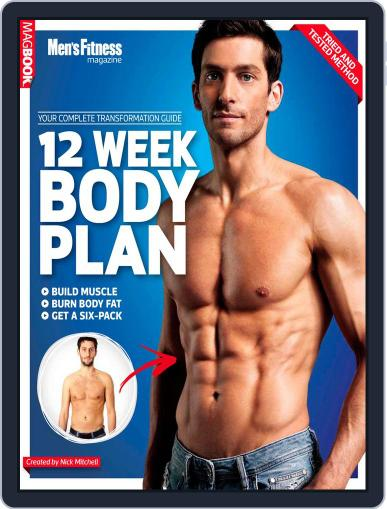 Men's Fitness The 12 Week Body Plan Magazine (Digital) January 17th, 2013 Issue Cover