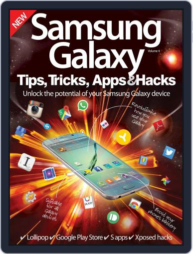 Samsung Galaxy Tips, Tricks, Apps & Hacks July 8th, 2015 Digital Back Issue Cover