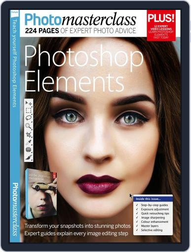 Teach Yourself Photoshop Elements Magazine (Digital) September 16th, 2016 Issue Cover