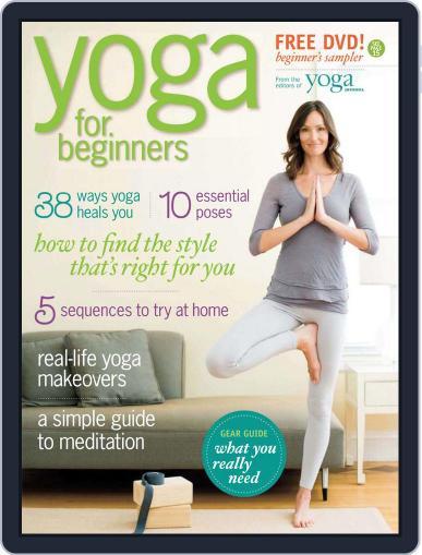 Yoga for Beginners November 3rd, 2009 Digital Back Issue Cover