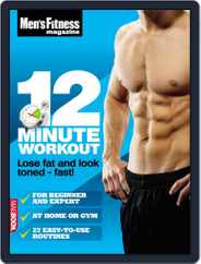Men's Fitness 12 Minute Workout Magazine (Digital) Subscription April 13th, 2011 Issue