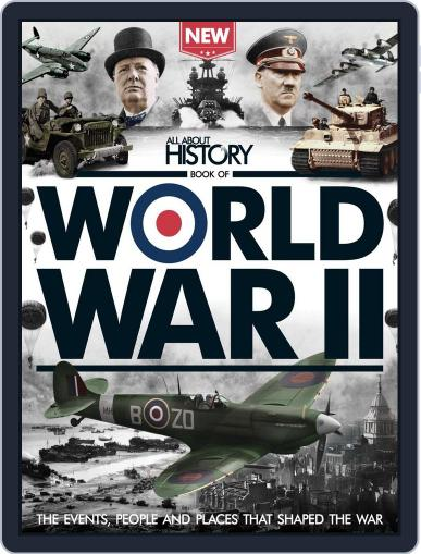 All About History Book Of World War II June 1st, 2016 Digital Back Issue Cover