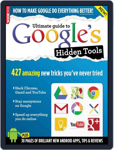 Ultimate guide to Google's Hidden Tools Magazine (Digital) October 2nd, 2013 Issue Cover
