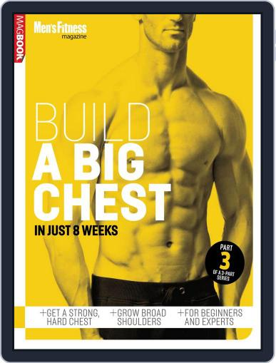 Mens Fitness Build a Bigger Chest January 16th, 2014 Digital Back Issue Cover