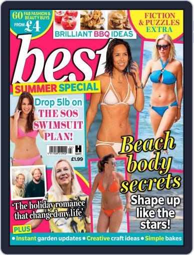 Best Summer Special Magazine (Digital) July 1st, 2016 Issue Cover