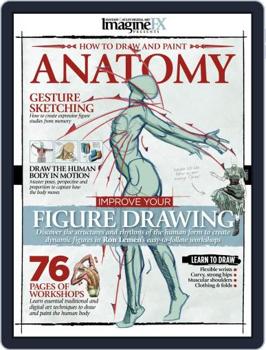 ImagineFX Presents Anatomy March 31st, 2014 Digital Back Issue Cover