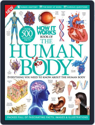 How It Works: Book of The Human Body July 1st, 2016 Digital Back Issue Cover