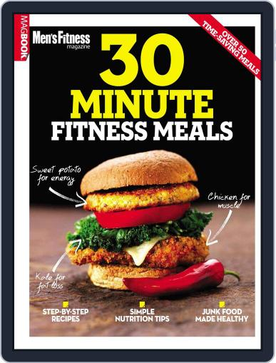 Men Fitness 30-min Meals Magazine (Digital) June 8th, 2015 Issue Cover