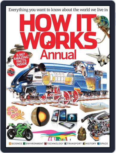 How It Works Annual Vol 2 July 4th, 2012 Digital Back Issue Cover
