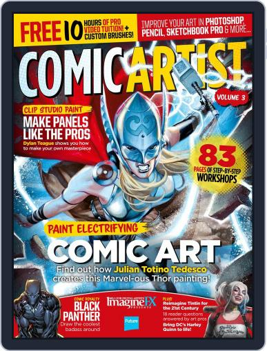 Comic Artist Volume 2 September 1st, 2016 Digital Back Issue Cover