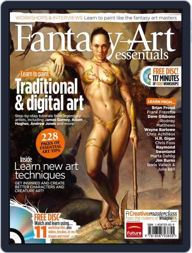 ImagineFX Presents: Fantasy Art Essentials Magazine (Digital) August 18th, 2011 Issue Cover