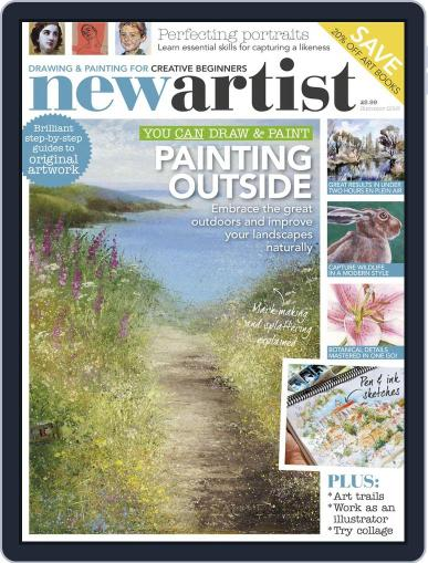 New Artist Summer 2016 Magazine (Digital) July 1st, 2016 Issue Cover
