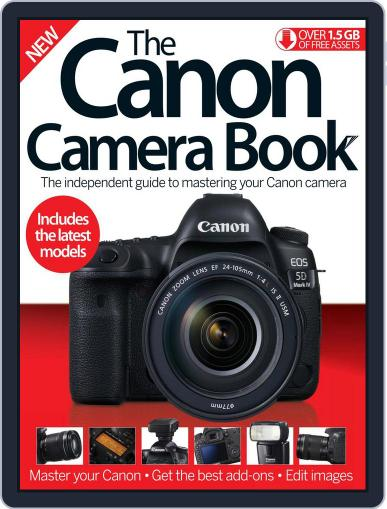 The Canon Camera Book December 1st, 2016 Digital Back Issue Cover