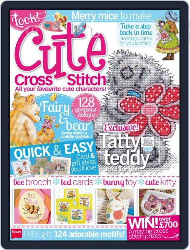 Cute Cross Stitch March 31st, 2014 Digital Back Issue Cover