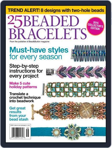 25 Beaded Bracelets Magazine (Digital) June 5th, 2015 Issue Cover