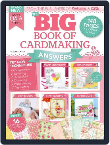 Big Book of Cardmaking Answers June 1st, 2016 Digital Back Issue Cover
