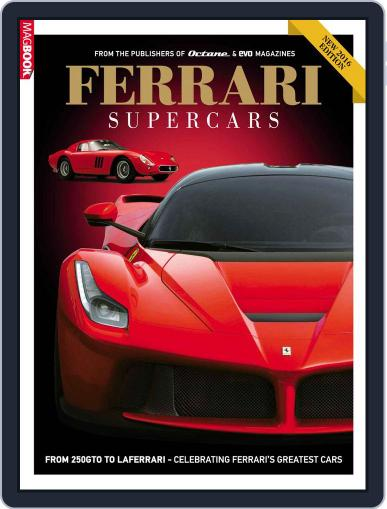 Ferrari Supercars January 1st, 2016 Digital Back Issue Cover