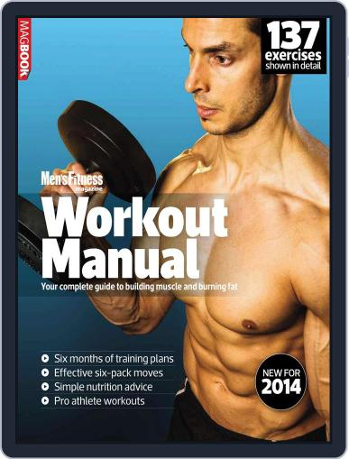 Mens Fitness Workout Manual 2014 March 7th, 2014 Digital Back Issue Cover