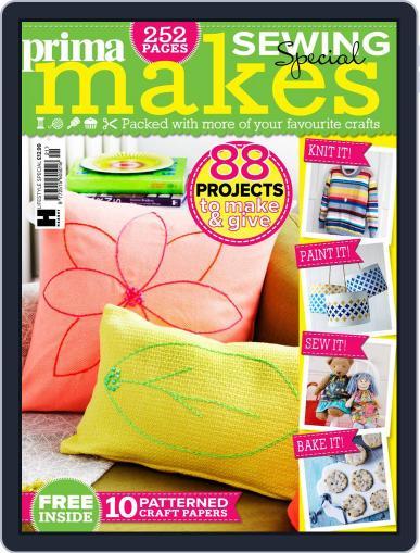Prima Makes Magazine (Digital) April 11th, 2018 Issue Cover