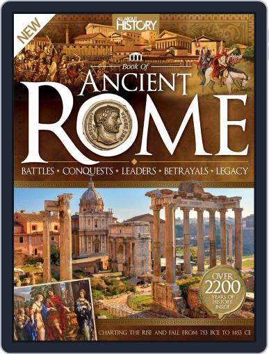 All About History: Book of Ancient Rome Magazine (Digital) March 1st, 2016 Issue Cover