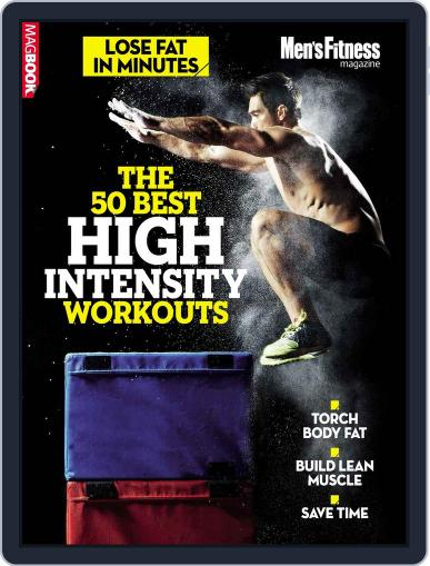 Men's Fitness The 50 best high intensity workouts Magazine (Digital) April 17th, 2015 Issue Cover