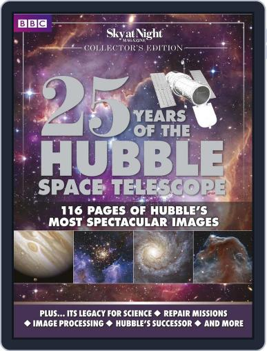 25 Years of the Hubble Space Telescope - from BBC Sky at Night April 16th, 2015 Digital Back Issue Cover