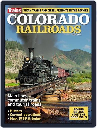 Colorado Railroads April 1st, 2016 Digital Back Issue Cover