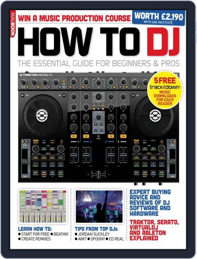 How to DJ February 10th, 2013 Digital Back Issue Cover
