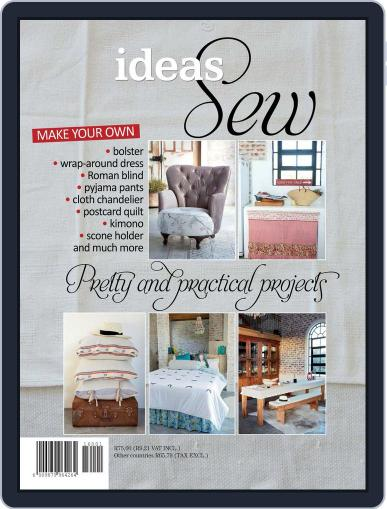 Sew Ideas Magazine (Digital) October 9th, 2015 Issue Cover
