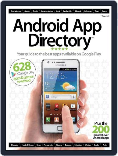 Android App Directory Vol 2 Magazine (Digital) May 21st, 2012 Issue Cover