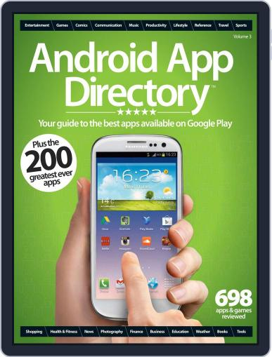 Android App Directory Vol 3 Magazine (Digital) September 20th, 2012 Issue Cover