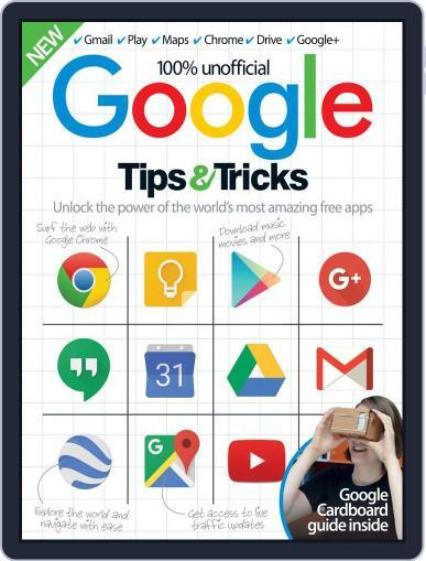 Google Tips & Tricks October 1st, 2016 Digital Back Issue Cover