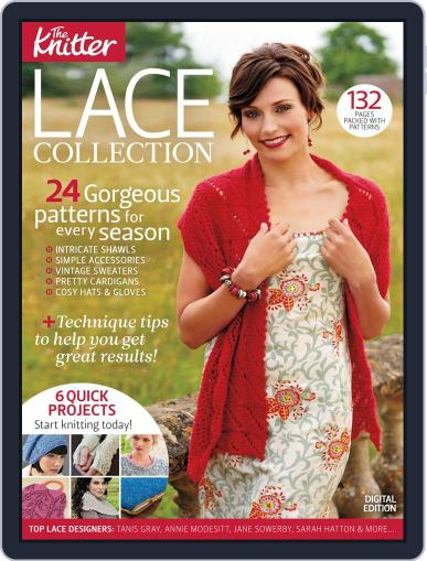 The Knitter: Lace Collection Magazine (Digital) September 9th, 2013 Issue Cover