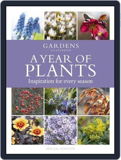 A Year of Plants - from the makers of Gardens Illustrated Magazine (Digital) October 2nd, 2014 Issue Cover