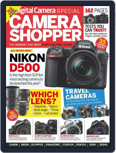 Camera Shopper Magazine (Digital) September 1st, 2016 Issue Cover
