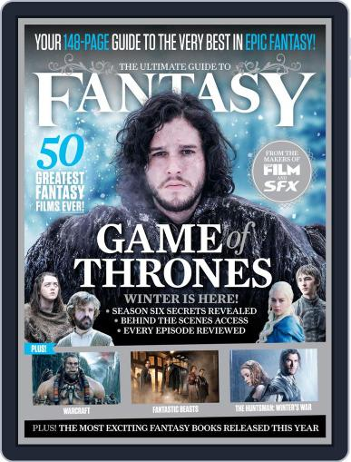 The Ultimate Guide to Fantasy March 1st, 2016 Digital Back Issue Cover