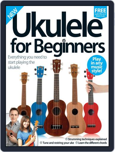 Ukulele For Beginners July 27th, 2016 Digital Back Issue Cover