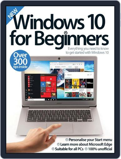 Windows 10 For Beginners March 1st, 2017 Digital Back Issue Cover