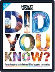 How It Works Book of Did You Know? Magazine (Digital) Subscription November 1st, 2016 Issue