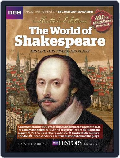 The World of Shakespeare May 18th, 2016 Digital Back Issue Cover