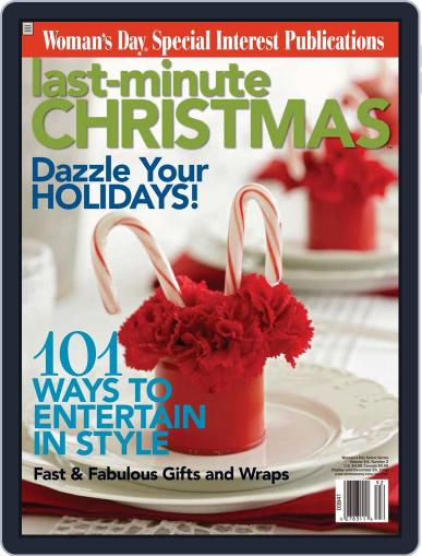 Woman's Day - Last Minute Christmas Magazine (Digital) November 1st, 2009 Issue Cover