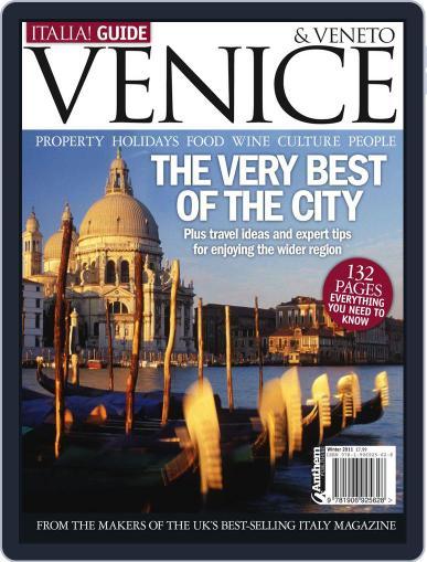 Italia! Guide to Venice & Veneto April 15th, 2011 Digital Back Issue Cover