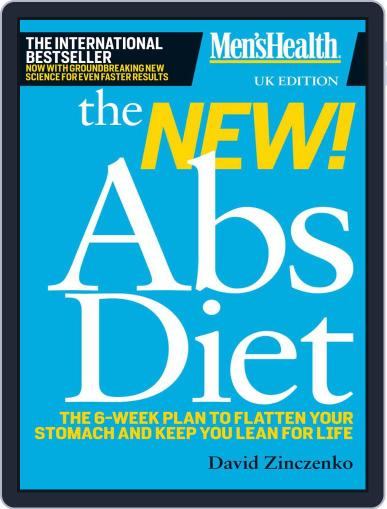 Men's Health - The New Abs Diet May 9th, 2011 Digital Back Issue Cover